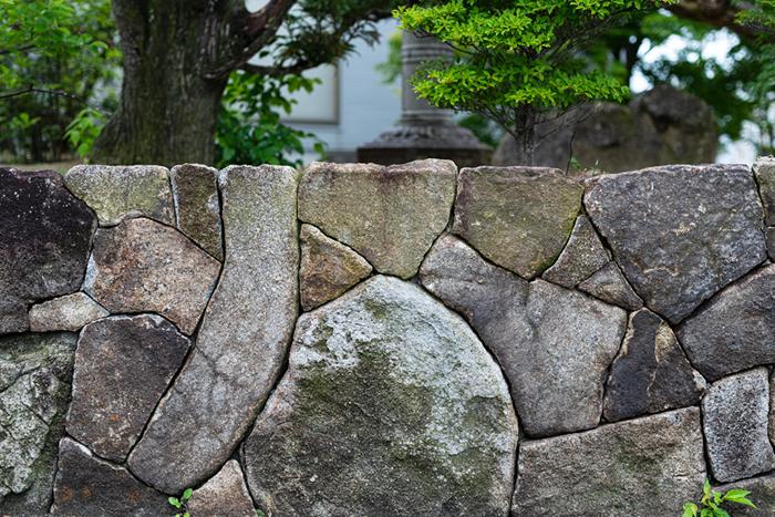 石垣の写真